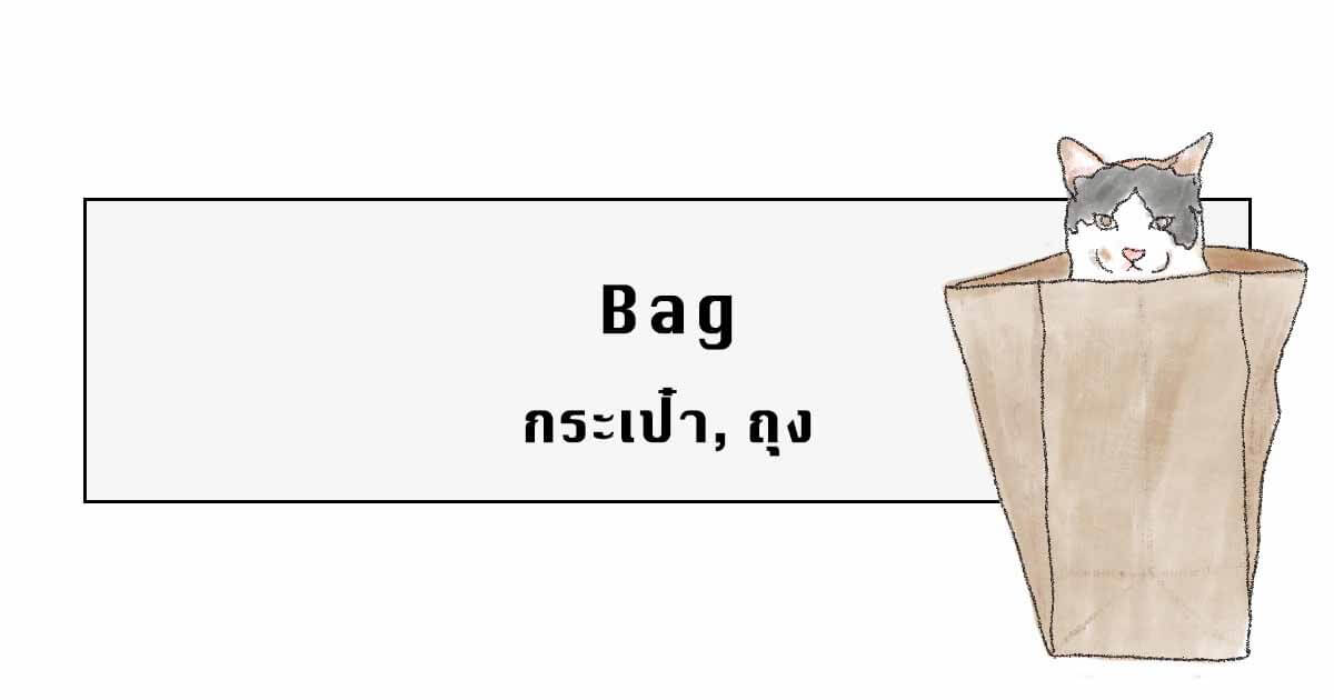 Bag in Thai