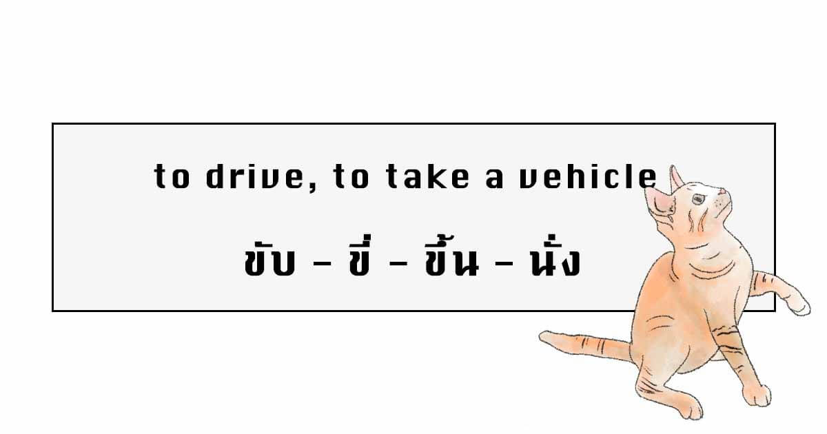 Drive and Take a Vehicles